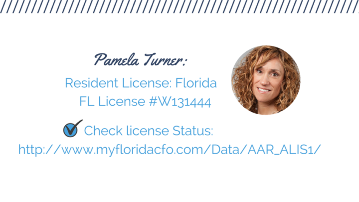 PamelaTurnerInsurance license credentials